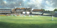 the ashes 1985, gower and gooch batting by sherree valentine daines