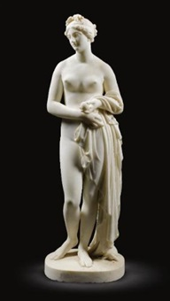 the tinted venus by john gibson
