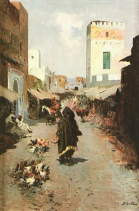 scène de rue, maroc by daniel cortes