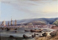 animated view of valparaiso harbor by jacob c. ward