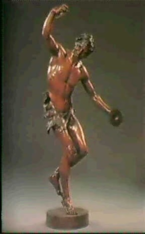 the dancing faun by edmund klotz