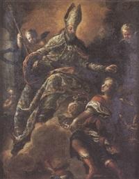 le triomphe de saint augustin by isidro rodriguez de ribera