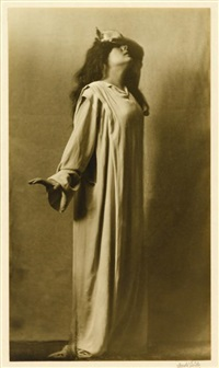 julia marlow as lady macbeth by arnold genthe