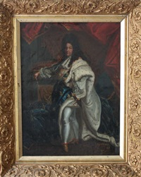 portrait de louis xiv by rigaud