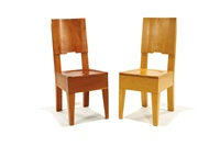 simple chairs (pair) by roy mcmakin