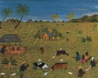 village au cap haïtien by télémaque obin