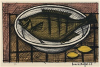 fish by bernard buffet