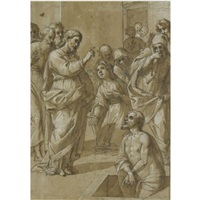 the raising of lazarus by avanzino nucci