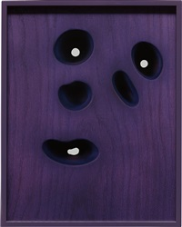 walnut (purple) by elad lassry