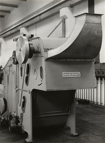 schubert salzer ingolstadt blow room machine cotton mill machine untitled 3 works by albert renger patzsch