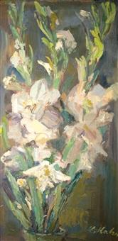 gladiolus by leo kahn
