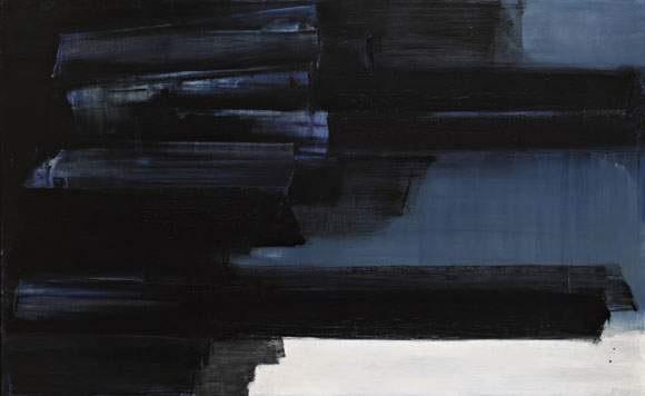 peinture 125 x 202 by pierre soulages