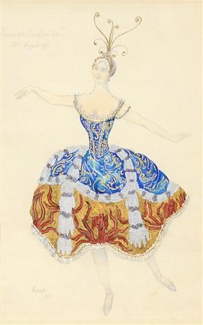 princess enchantee by leon bakst