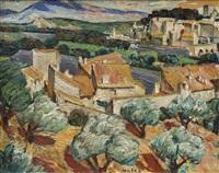 avignon landscape by maria-mela muter