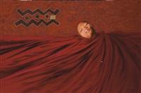 portrait de moseka yogo ambake by rose holzer