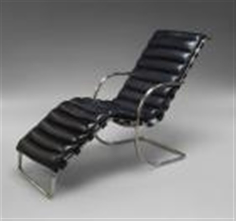 Chaise Longue By Ludwig Mies Van Der Rohe
