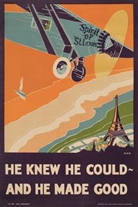 he knew he could - and he made good by posters: planes