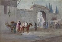 oriental scene by ciro mazini