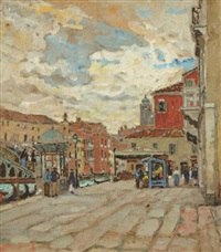 venise, le kiosque by guillaume georges roger