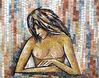 nude woman by virgilio cassio