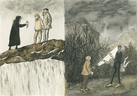 the drum the doll and the zombie by edward gorey
