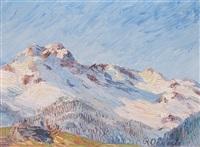 hochgebirge by rodolfo olgiati