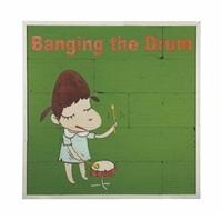 banging the drum by yoshitomo nara