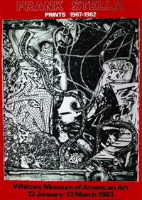 frank stella, prints 1967-1982. whitney museum of american art by frank stella