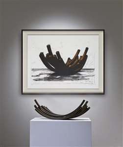 artwork by bernar venet