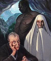 three men by wood w. woolsey