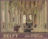 delft by anton van anrooy