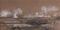 la bataille d'elchingen victoire du maréchal ney sur les autrichiens, le 14 octobre 1805 by camille joseph etienne roqueplan