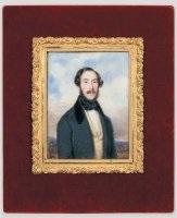 portrait d'un homme en buste de trois-quart by francois meuret