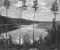 schwedische landschaft by rudolf böttger