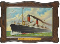 cunard steamers, carmania - caronia by fred pansing