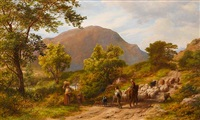 a mountain road by james thomas linnell