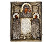 icon of the mother of god of kazan by pyetr abrosimov