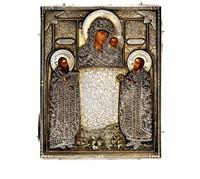 icon of the mother of god of kazan by pyetr abrosimov