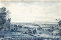view of montreal from the mountain by james d. duncan