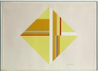 yellow diamond by ilya bolotowsky