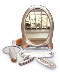 tischspiegel mit toilettengarnitur (set of 7) by david andersen