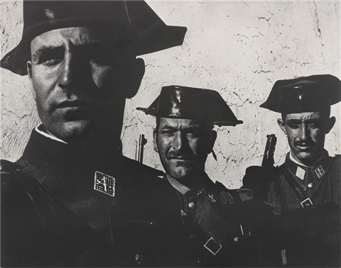 guardia civil spain by w eugene smith