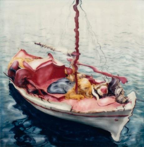 composition au bateau by andreas mahl