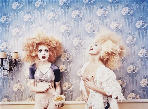 milk maidens paris by david lachapelle