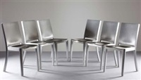 the hudson chair (set of 6) by philippe starck