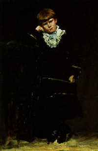 portrait of a young boy by frederick porter vinton