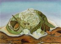 coliflor con insectos by josé luis romo