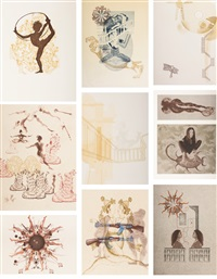 untitled (9 works) by shahzia sikander