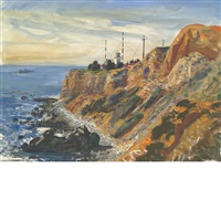 palos verdes lighthouse by andrew winter