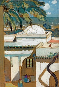 villa abd el tif, la coupole by jean bouchaud